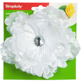 Create-It-Yourself Large Flower with Jewel Accessory