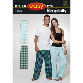 It's So Easy Women's and Men's Pants