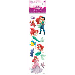 The Little Mermaid Dimensional Stickers_51-40018