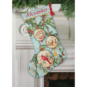 Enchanted Ornament Stocking, Counted Cross Stitch_70-08854