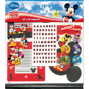 Mickey Mouse and Friends 12 x 12 Page Kit_DMPK4
