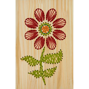 Flower Yarn Art, Embroidery_72-74211