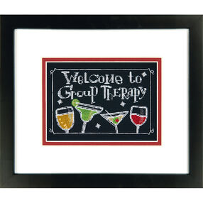 Group Therapy, Counted Cross Stitch_70-65147