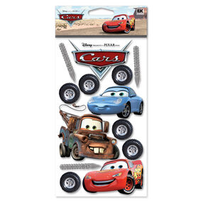 Cars Dimensional Stickers_DCGIJ06