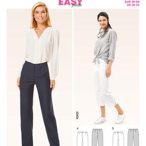 B6681 Misses' Pants