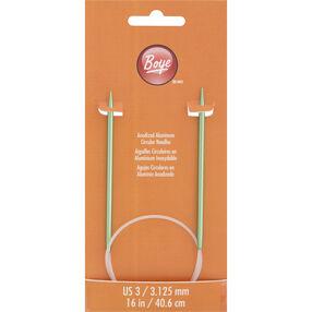 16 Inch Circular Knitting Needles Size 3 Aluminum