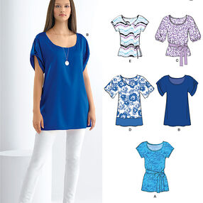 Misses' Tunic or Tops
