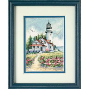 Scenic Lighthouse, Counted Cross Stitch_65057