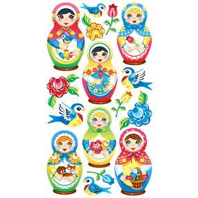 Babushka Babies Stickers_52-00686