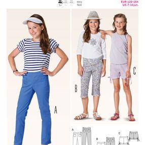 Burda Style Pattern 9444 Children