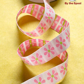 """4 ft. of 7/8"""" Blooming Daisy Band"""