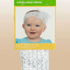"1-3/4"" Create-It-Yourself Crochet Baby Headband"