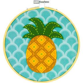Golden Pineapple, Felt Appliqué_72-75112