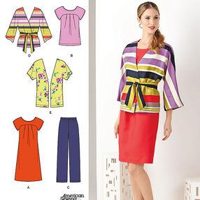 Misses' & Plus Size Dress & Separates