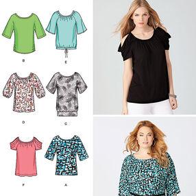 Misses' & Plus Size Knit Tops