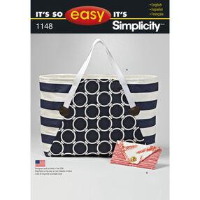 It's So Easy Pattern 1148 Bags