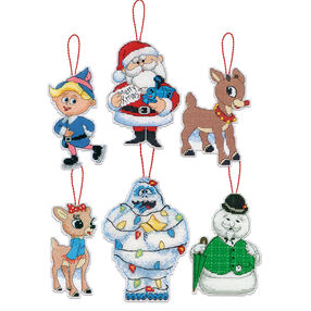 Rudolph Ornaments, Counted Cross Stitch_70-08958