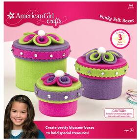 Funky Felt Box Kit_30-575554