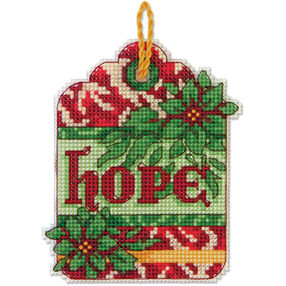 Hope Ornament, Counted Cross Stitch_70-08887