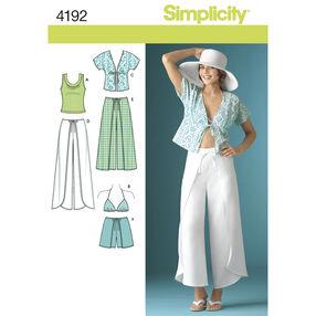 Simplicity Pattern 4192 Misses' Sportswear