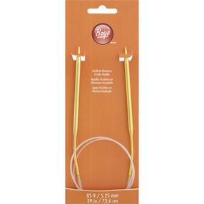 29 Inch Circular Knitting Needles Size 9 Aluminum