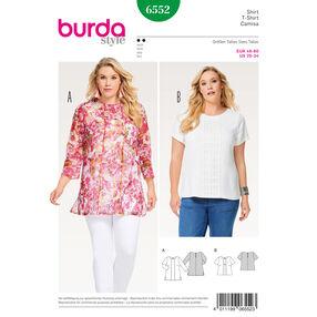 Burda Style Pattern B6552 Women's Blouse
