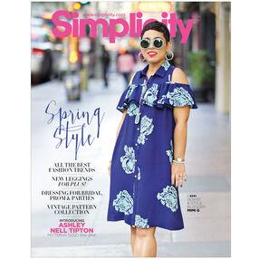 Simplicity Pattern Catalog Spring 2017