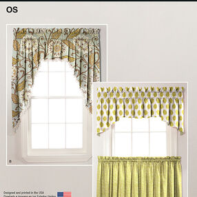 It's So Easy Valances and Cafe Curtains