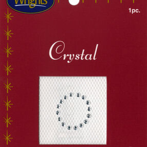 """1"""" Crystal Number Iron On"""
