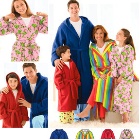 Child's, Teens' & Adults' Robe