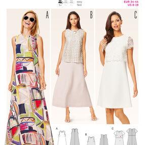 B6628 Misses' Dress