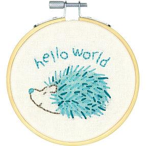 Hello Hedgehog, Embroidery_72-74891