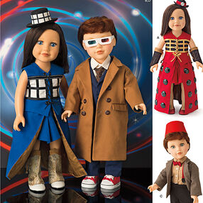 Pattern 8111 Costumes for 18 inch Dolls