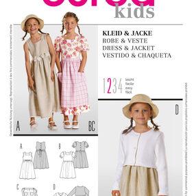 Burda Style Pattern 9755 Dress & Jacket