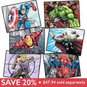 Superheroes Bundle, Pencil by Number_459902