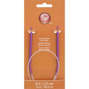 16 Inch Circular Knitting Needles Size 6 Aluminum