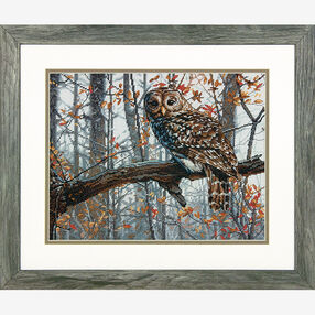 Wise Owl in Counted Cross Stitch_70-35311