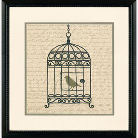 Vintage Birdcage, Embroidery_72-73720