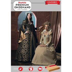 EA450801 Premium Print on Demand Costume Pattern