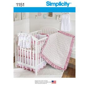Simplicity Pattern 1151 Nursery Accessories