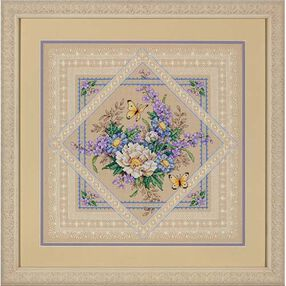 Flowers and Lace, Counted Cross Stitch_35105
