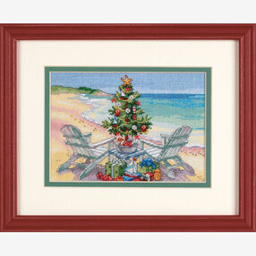 Christmas on the Beach, Counted Cross Stitch_70-08832