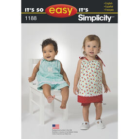 It's So Easy Pattern 1188 Baby Pieces