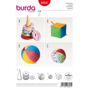 Burda Style Pattern B6561 Baby Play Toys