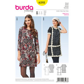 Burda Style Pattern 6593 Dress