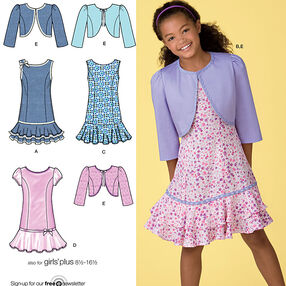 Girls & Girls Plus Dresses