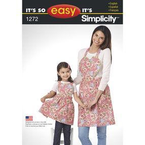 It's So Easy Child's and Misses' Aprons
