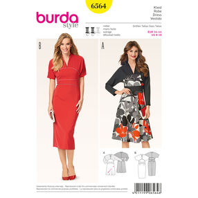 Burda Style Pattern 6564 Dress