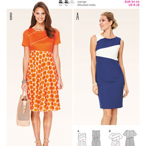Burda Style Pattern 6756 Dresses
