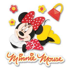 Minnie Dimensional Sticker_DJBM019